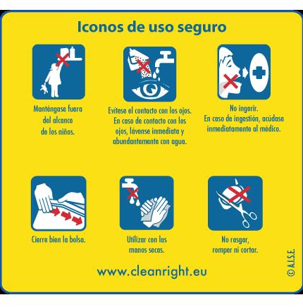 Iconos de uso seguro