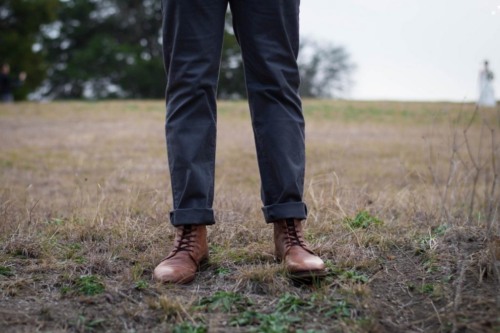 cómo medirse el bajo del pantalón